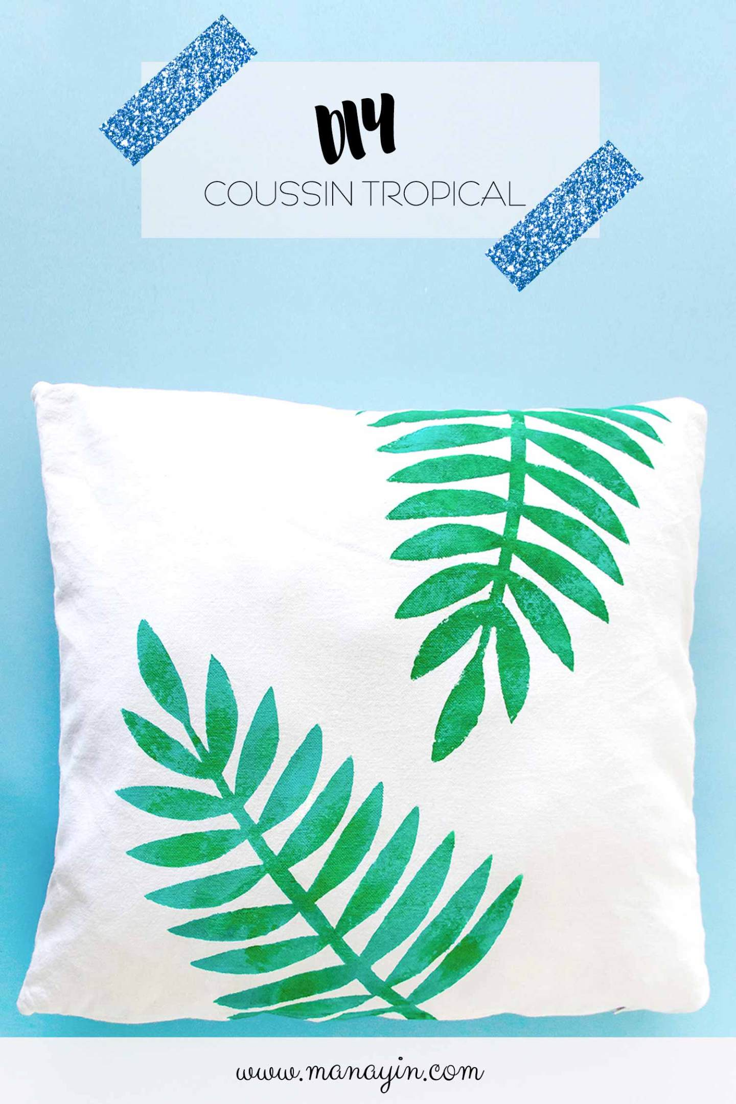 Customiser un coussin