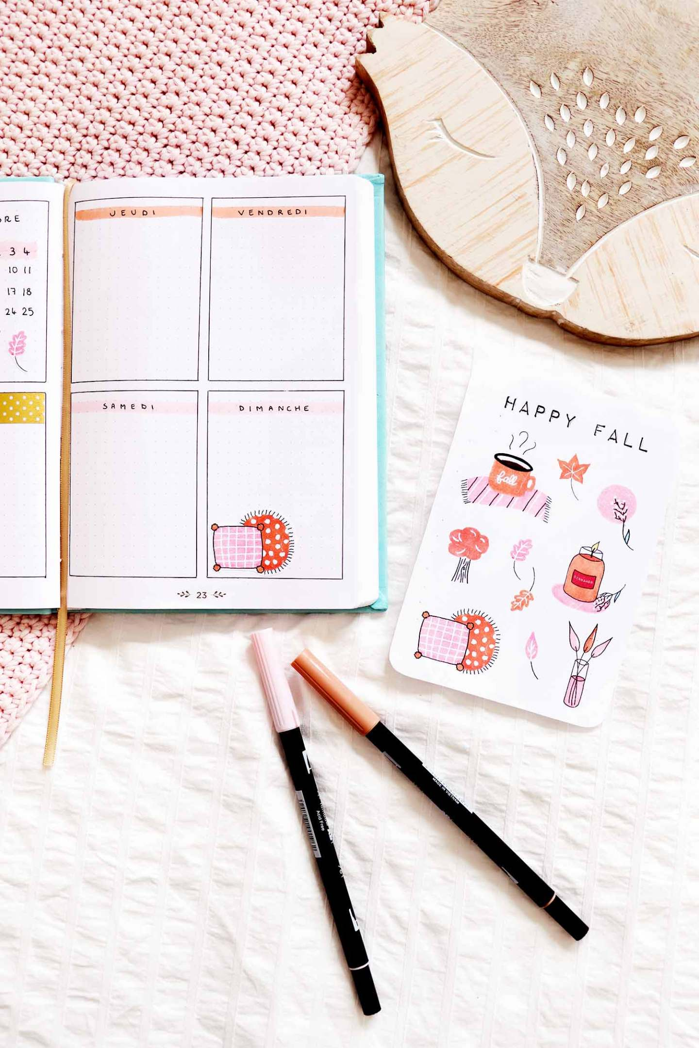 stickers bullet journal