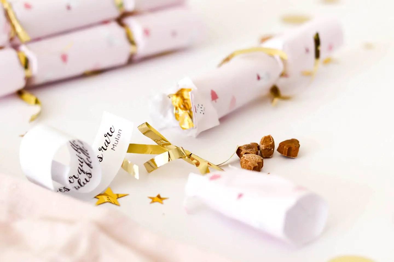 Crackers de Noël à faire soi-même