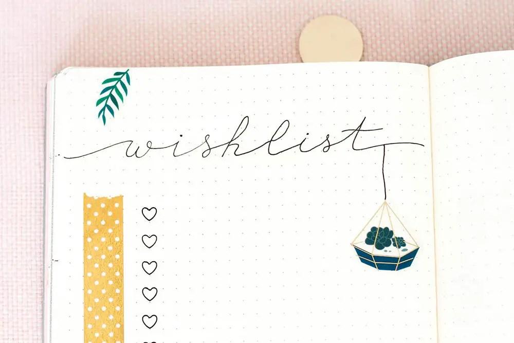 Comment décorer son Bullet Journal sans avoir à dessiner
