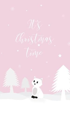 Carte et fond d'écran de Noël à imprimer