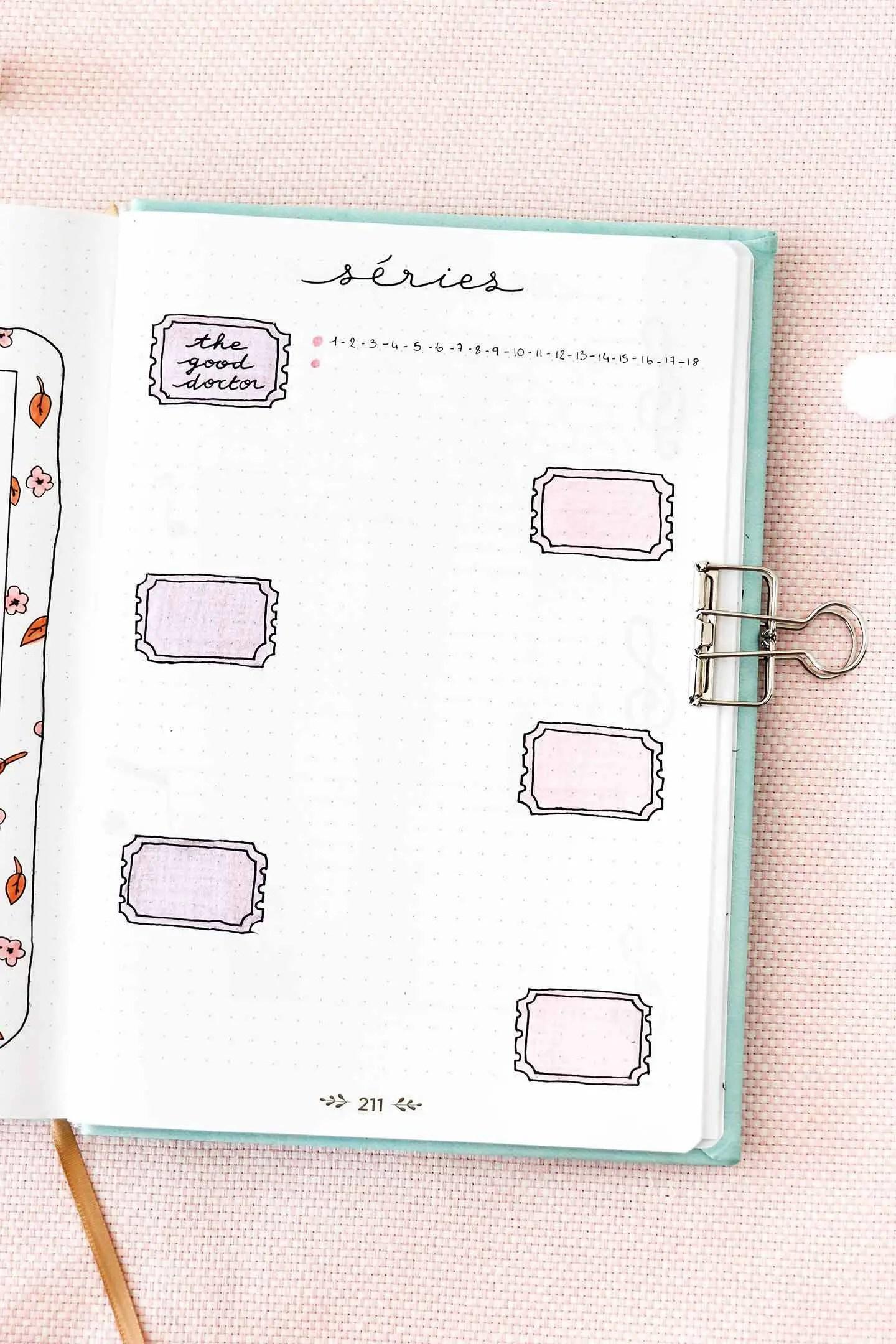 Créer un bullet journal : mon avis