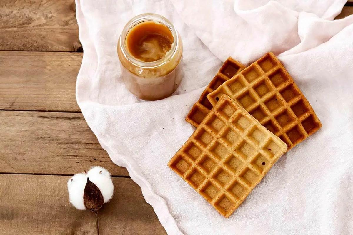 Recette de gaufres au miel sans gluten