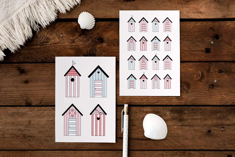 Cartes postales à imprimer