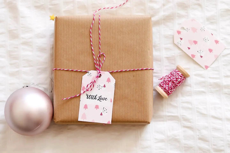 Papiers cadeaux freebie