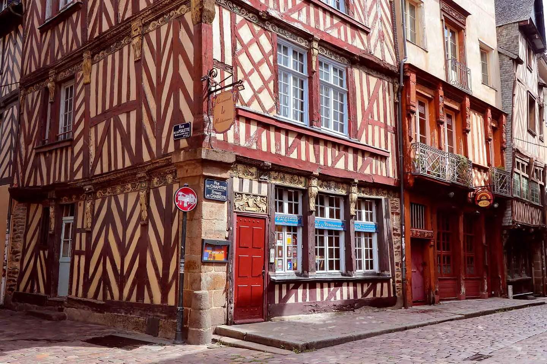 Maisons pans de bois Rennes