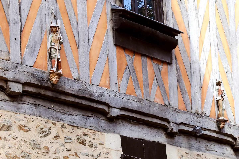 Rues de Rennes en Bretagne
