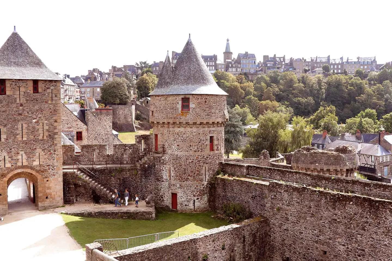 Visiter château de Fougères