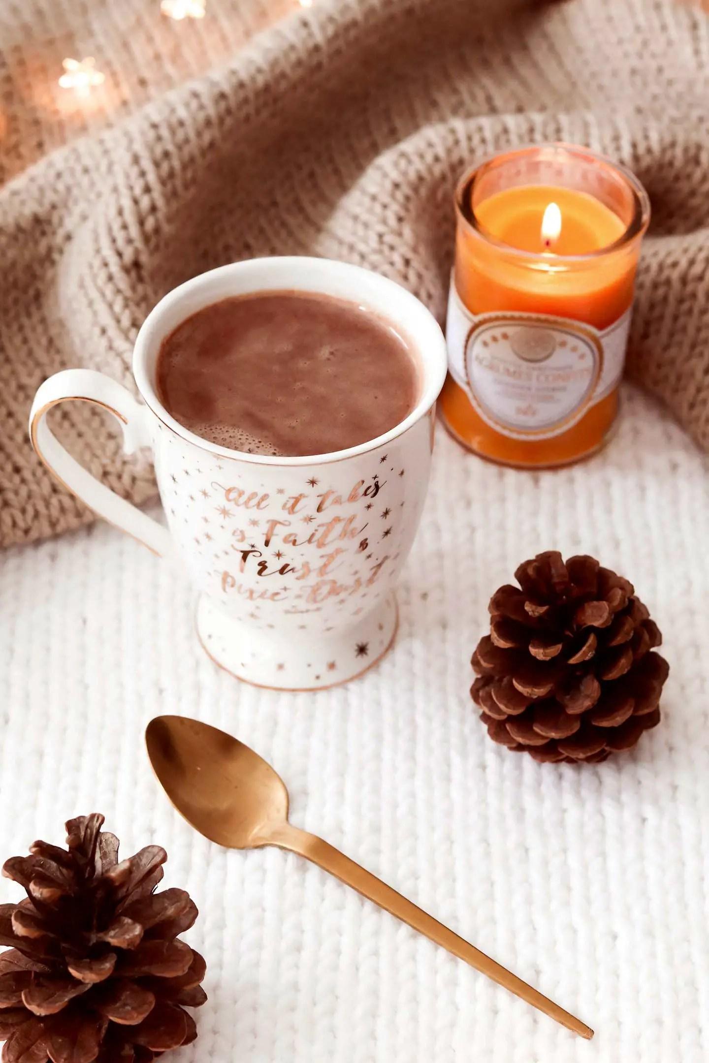 Chocolat chaud léger