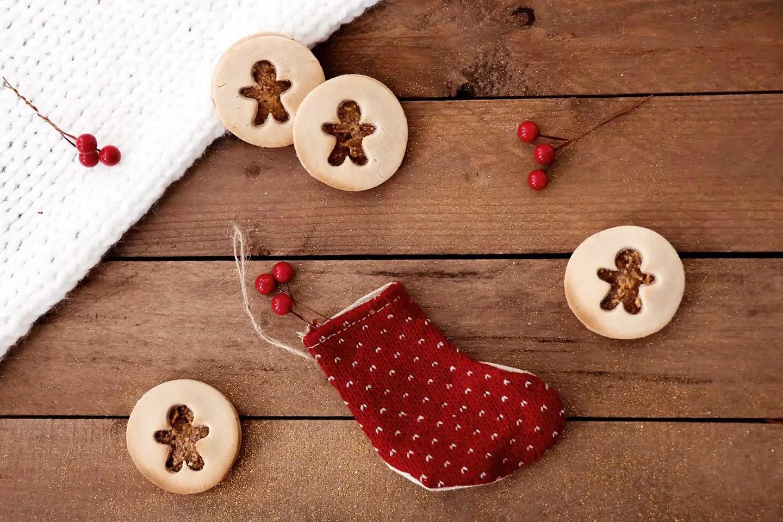 Biscuits de Noël à la fleur d'oranger