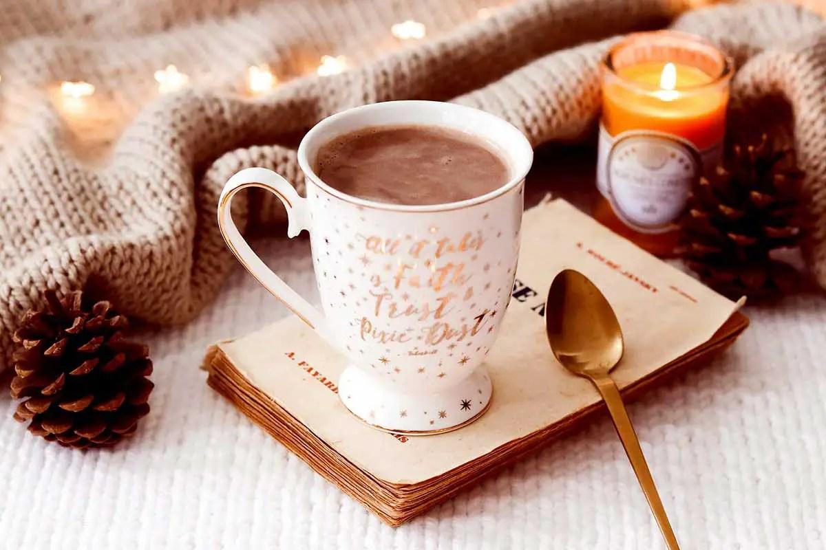 Une recette de chocolat chaud maison «healthy»