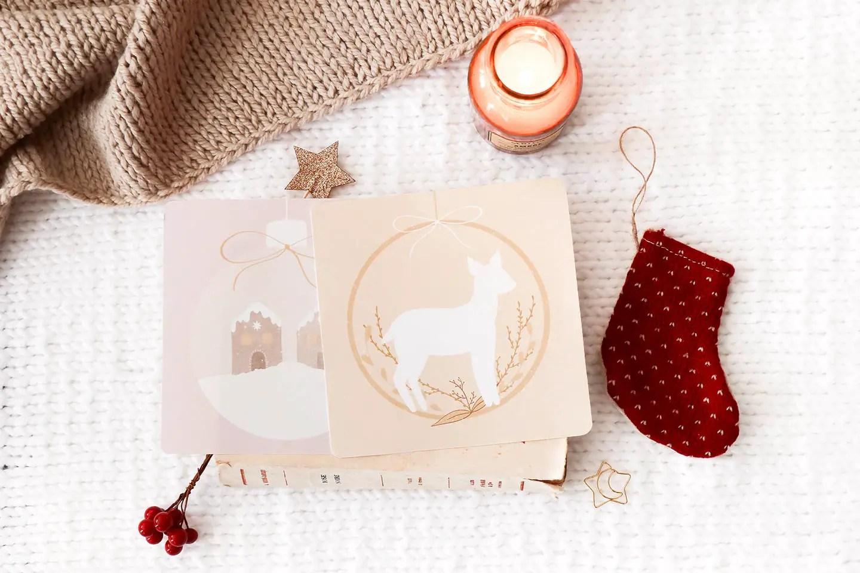 Des Cartes De Noel A Imprimer Manayin Freebies Printables