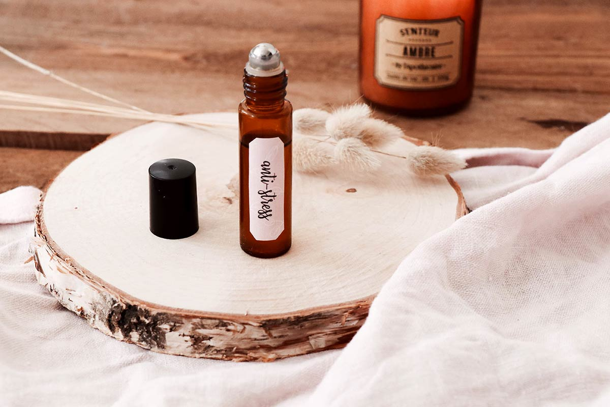 Anti-stress naturel : mon roll-on DIY aux huiles essentielles