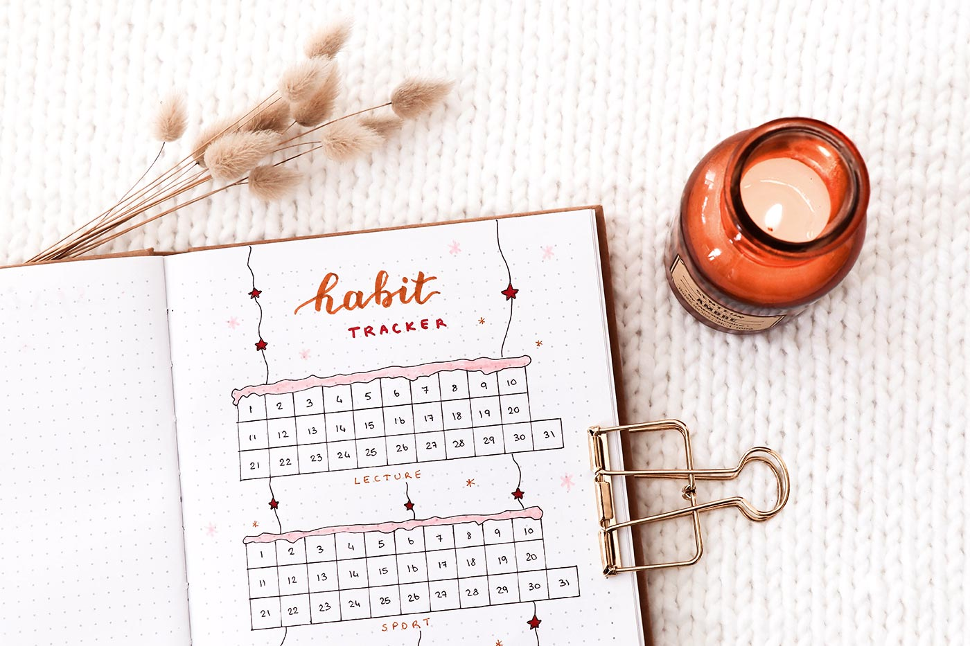 Habit tracker hiver