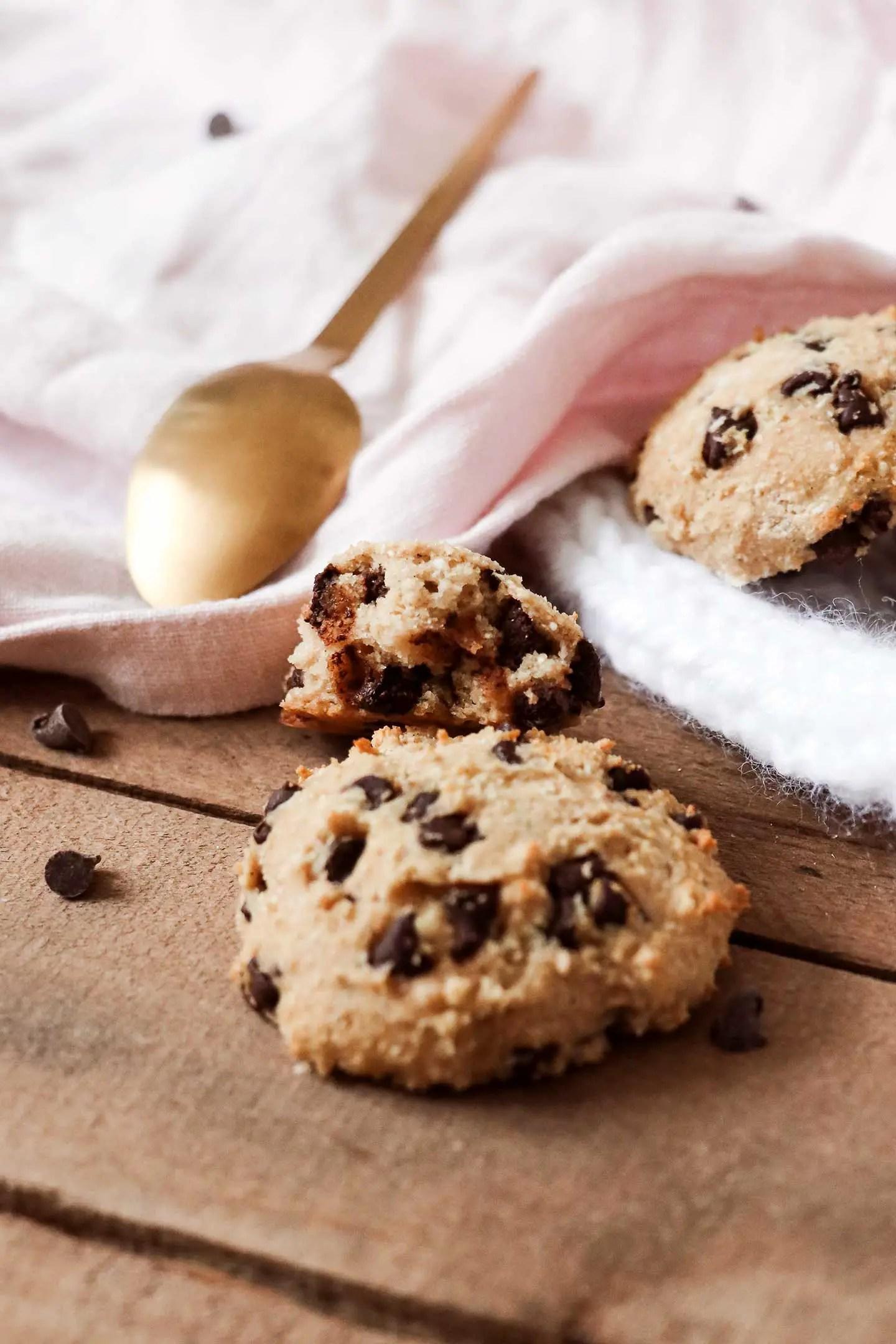 Recette cookies moelleux