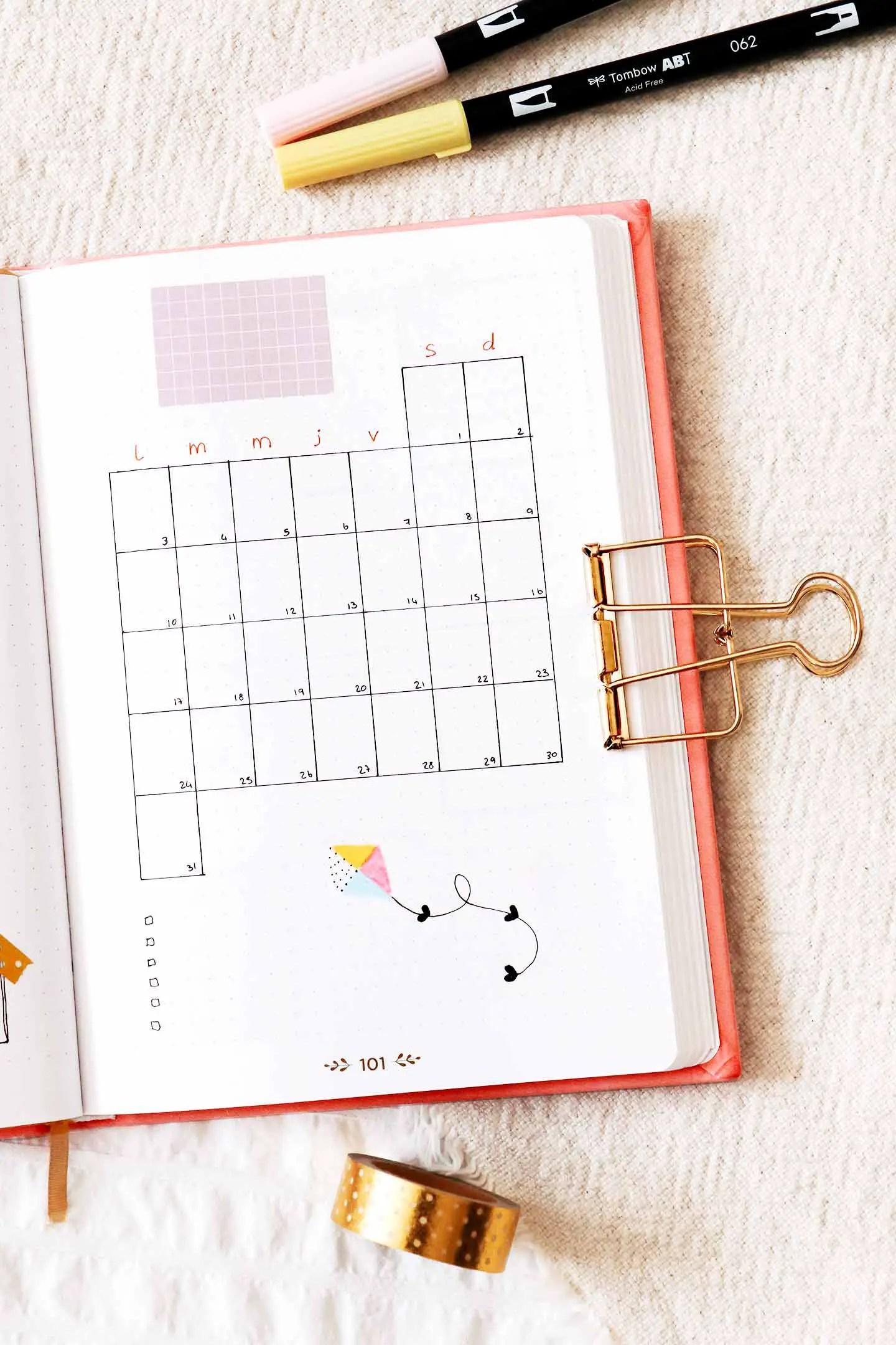 Monthly log août