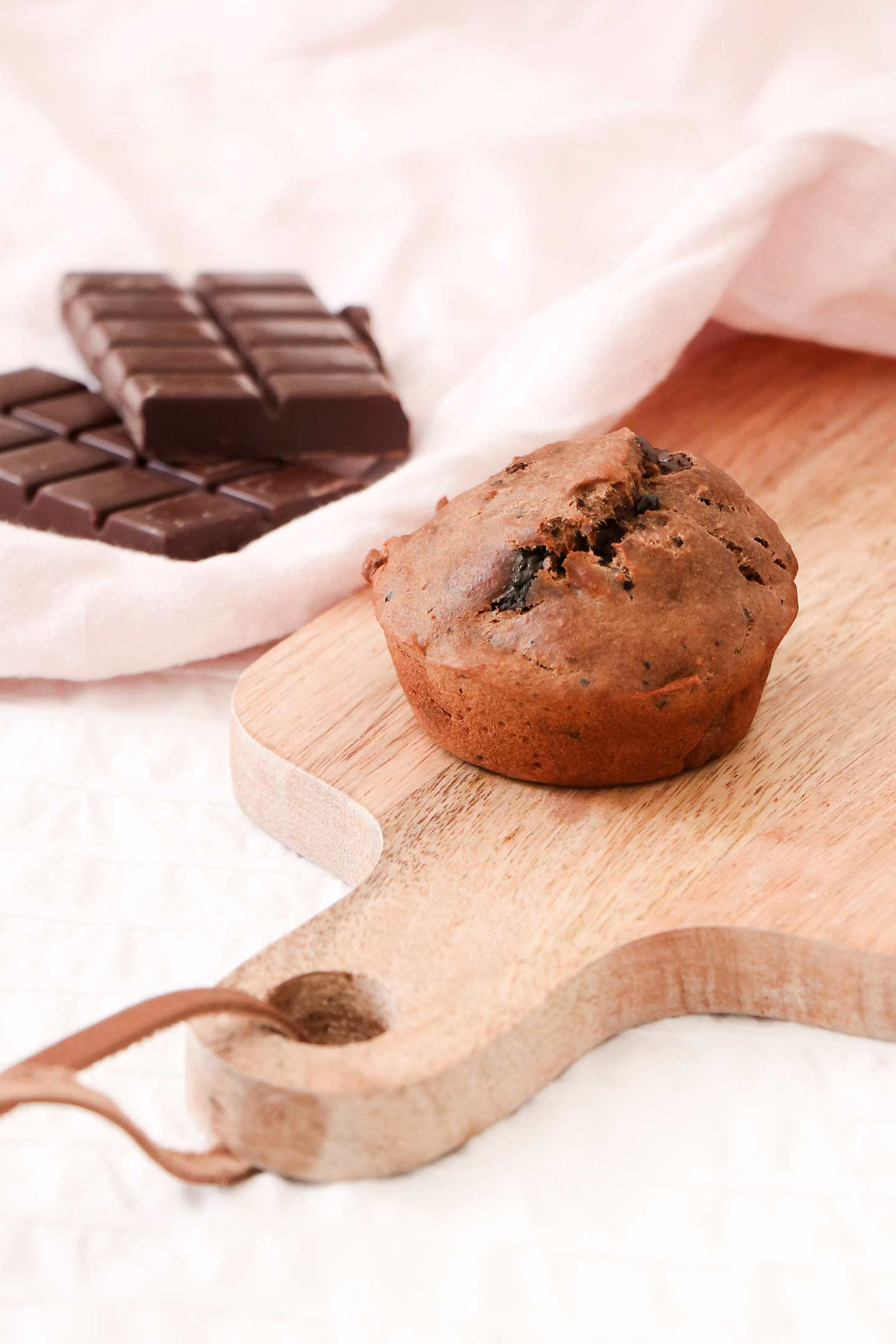 Recette muffins banane cacao