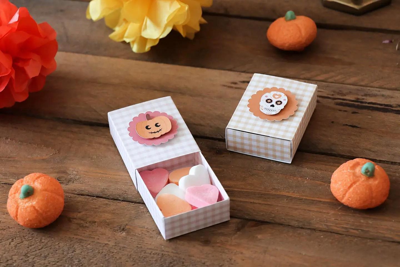 Boîtes bonbons Halloween