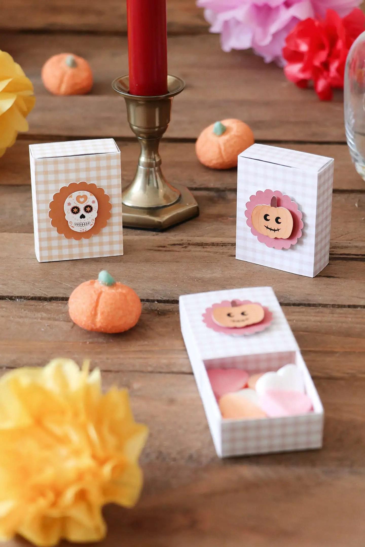Boîtes DIY Halloween