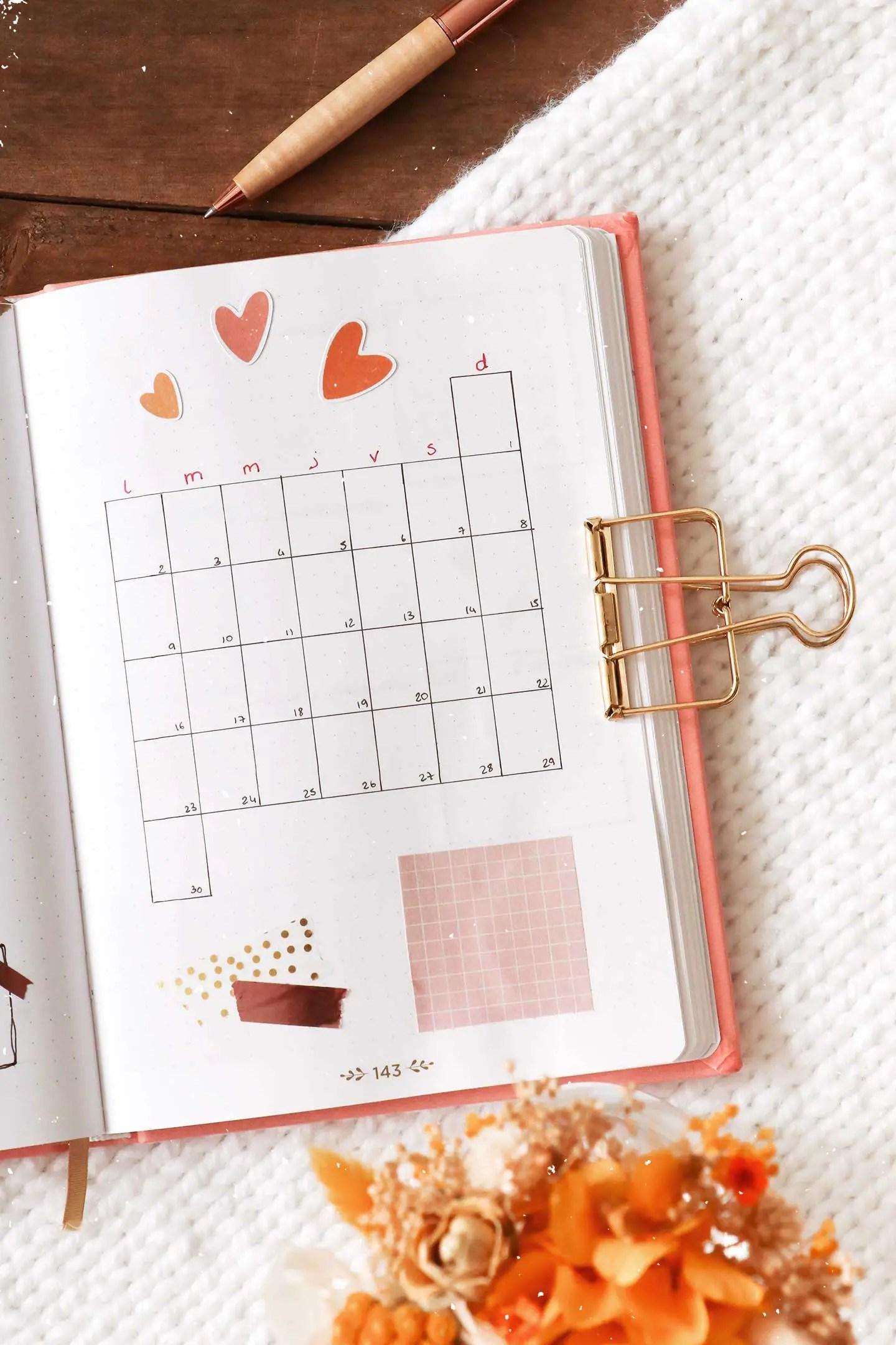 Monthly log novembre