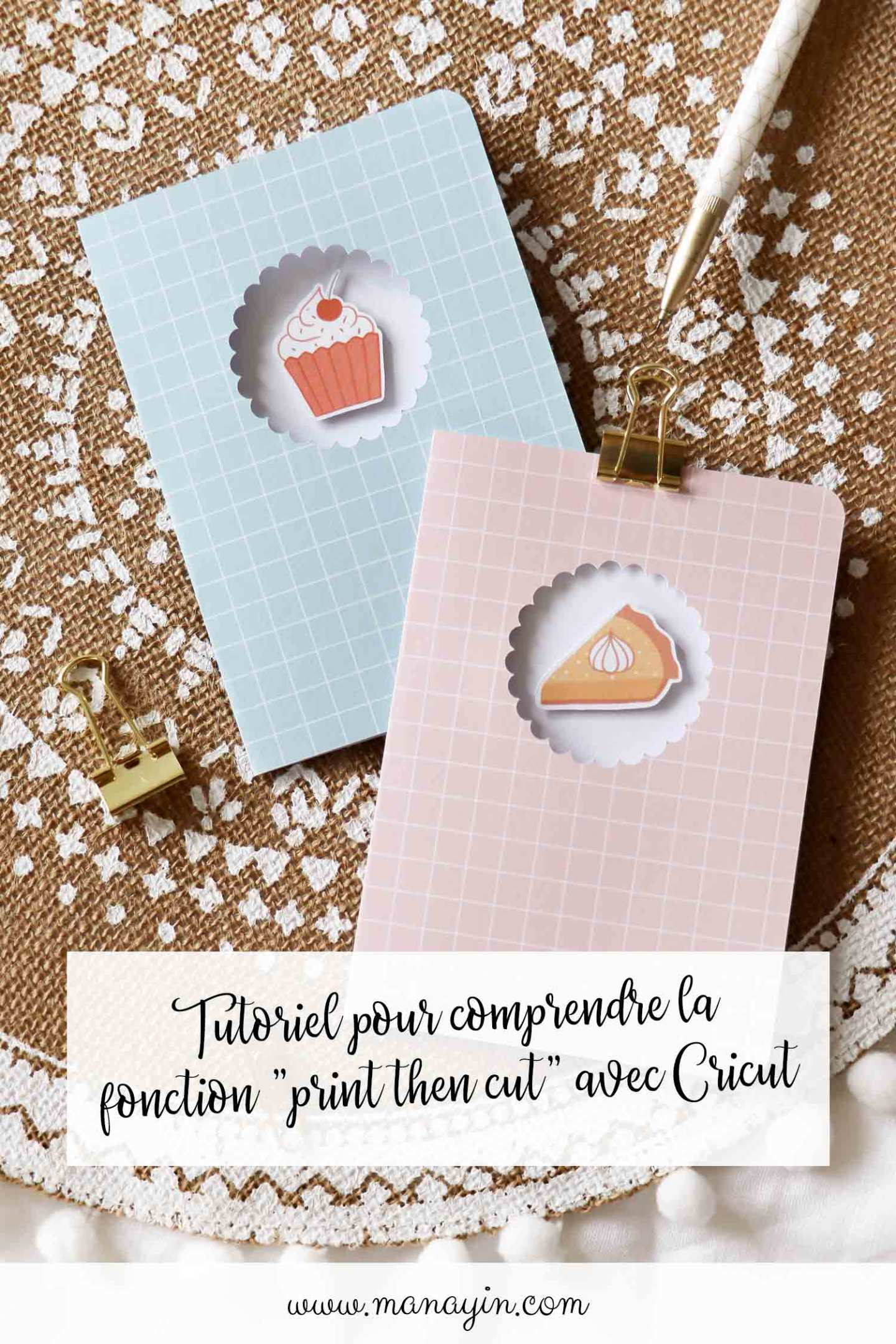 "Tutoriel ""print then cut"""