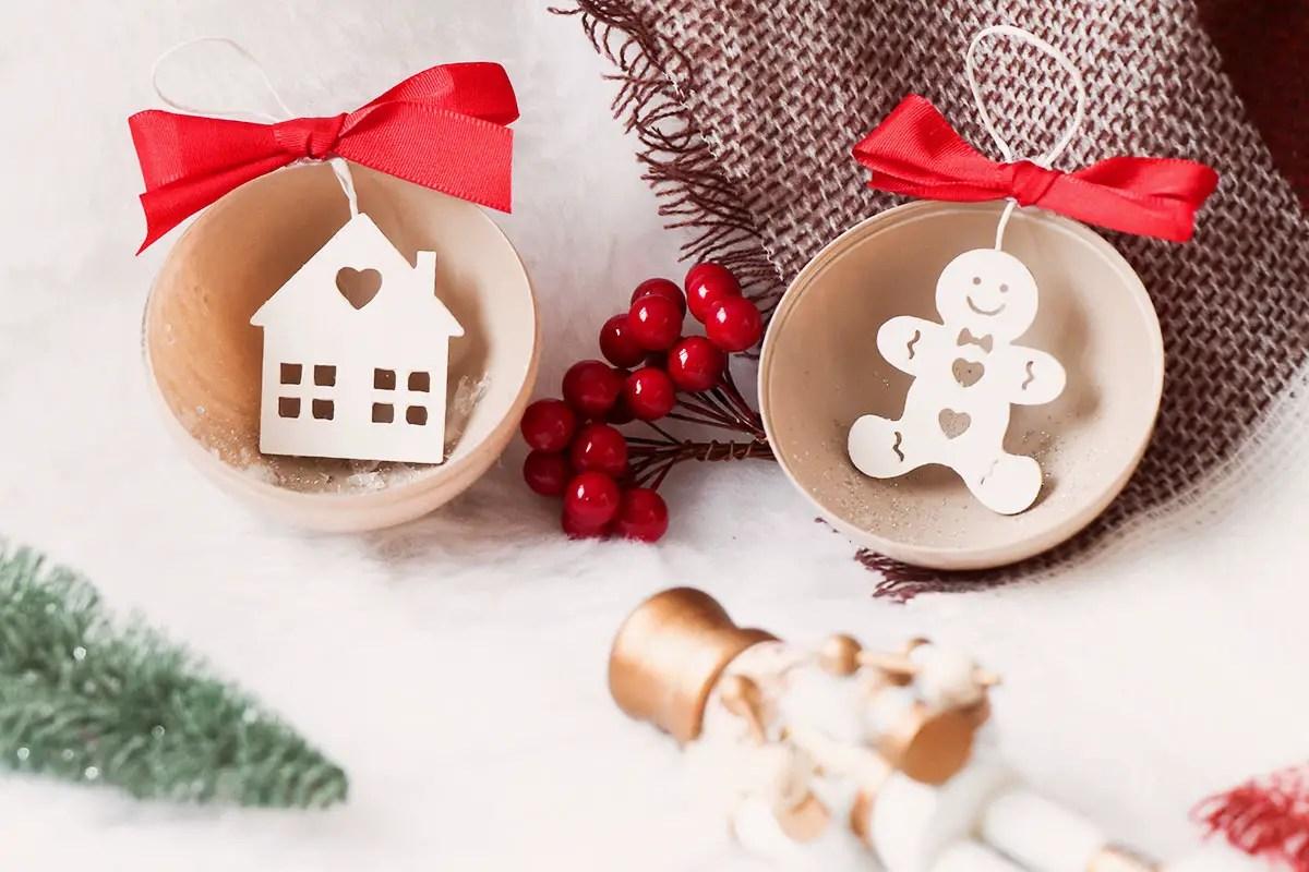 Des décos pour le sapin de Noël à faire soi-même