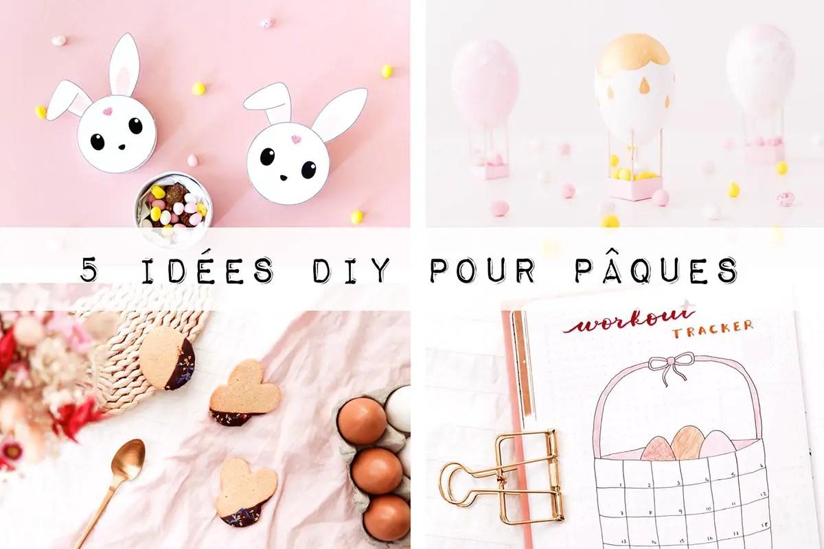 5 idées DIY pour Pâques (déco, papeterie, recette…)