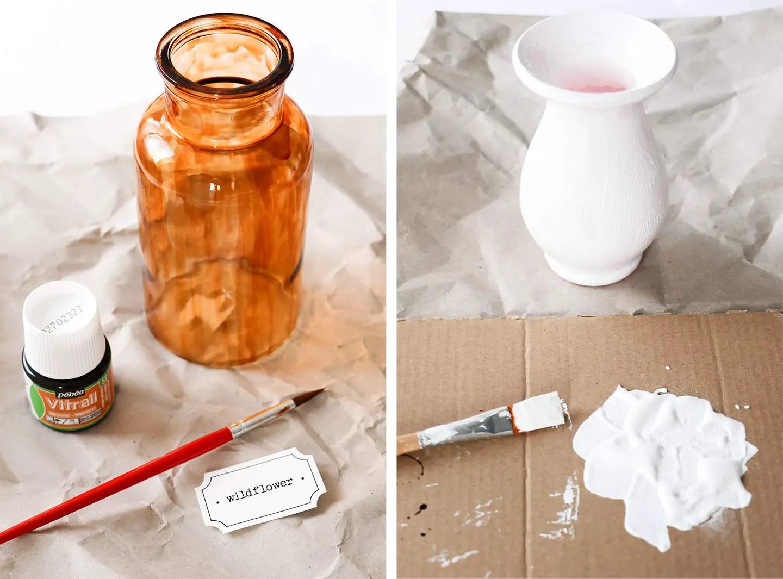 Bricolage transformer vases