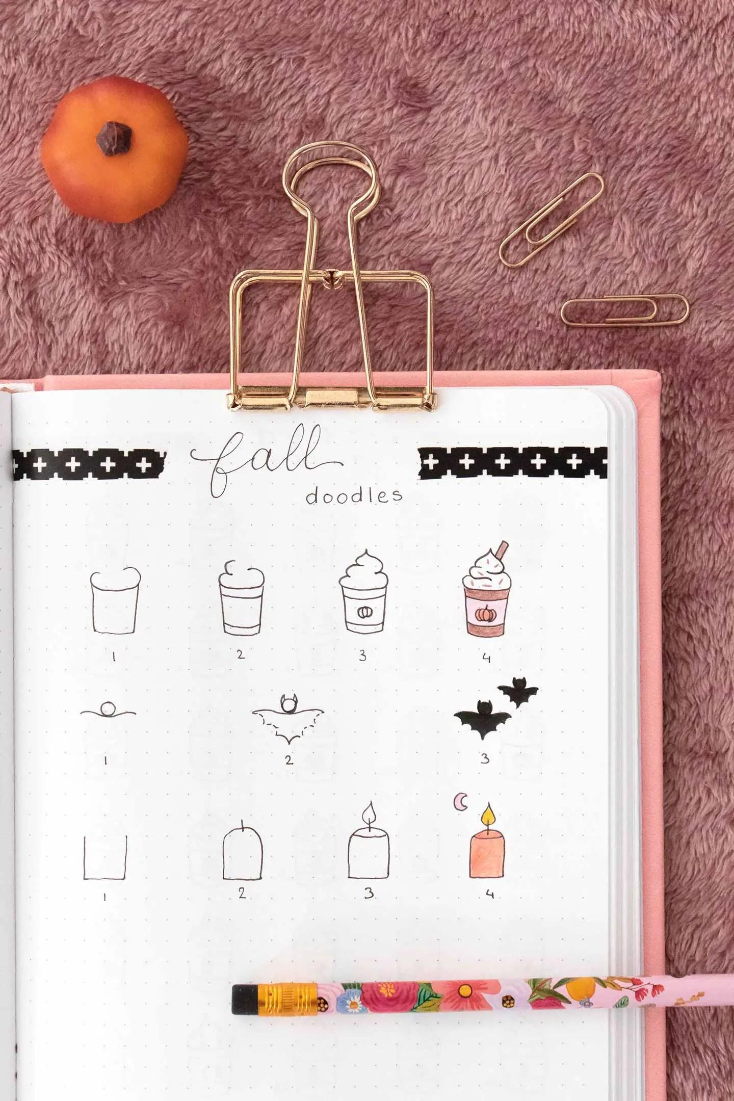 Doodles bullet journal