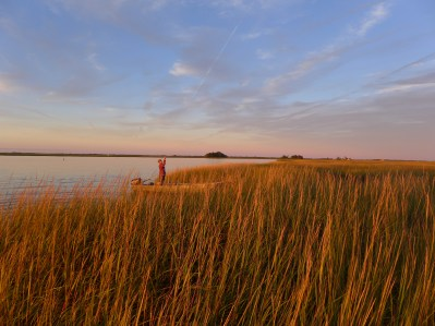 Sunset fishing in the Plum Island Sound, Sept 2014 (2)