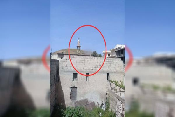 Tal Rif'at targeted by a Turkish drone