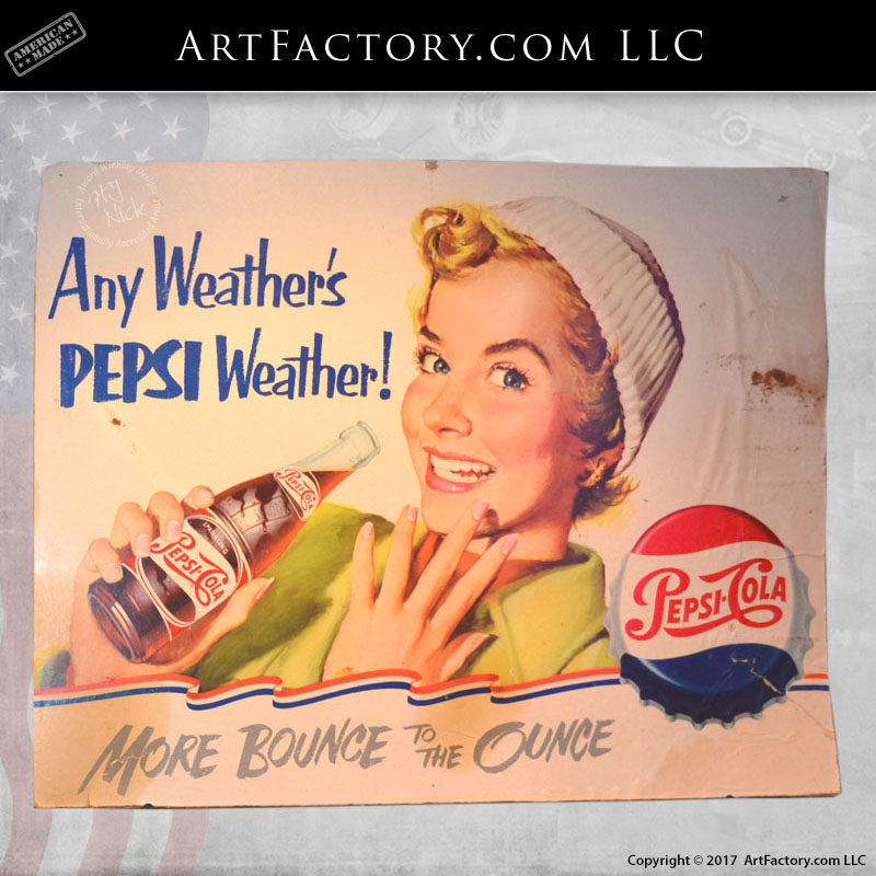 Any Weather's Pepsi Weather sign