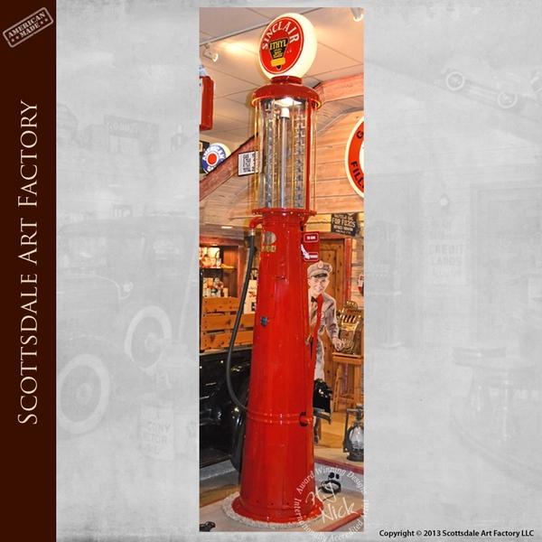 Sinclair Antique Gas Pumps