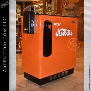 restored Nesbitts soda cooler
