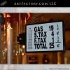 restored Gilbert & Barker visible gas pump
