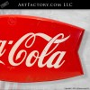 Coca Cola Fishtail sign