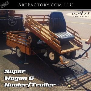 super wagon hauler trailer
