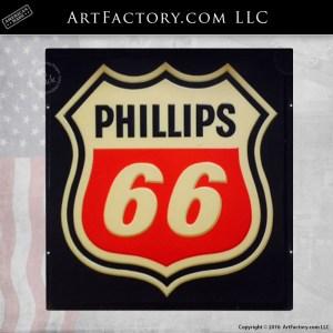 vintage Phillips 66 logo sign