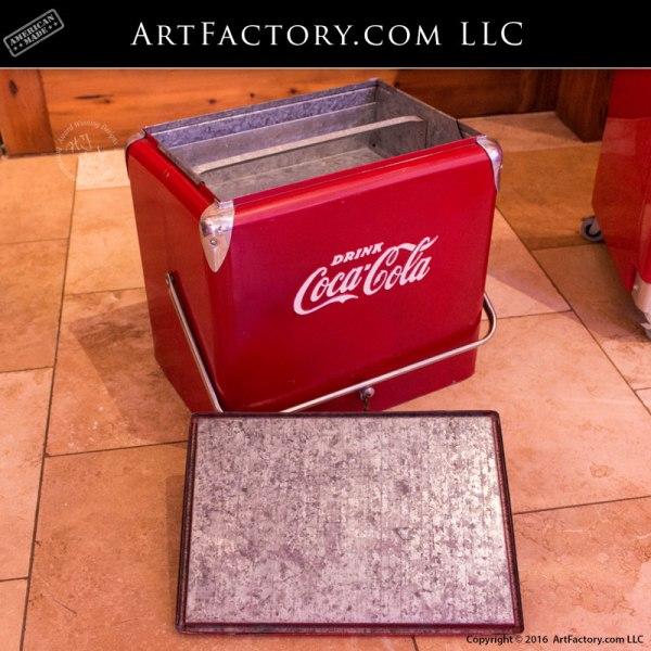 Vintage 1950's Coca-Cola Ice Chest: Unrestored Survivor Cooler
