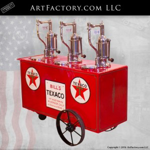 Texaco Lubester Oil Cart