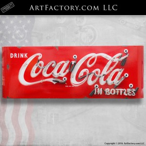 Drink Coca-Cola In Bottles Neon Sign