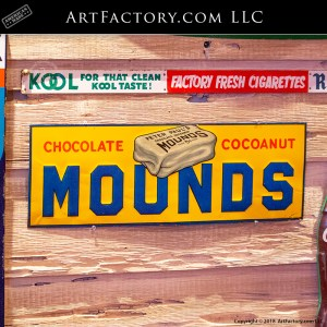 Rare Mounds Chocolate Coconut Sign