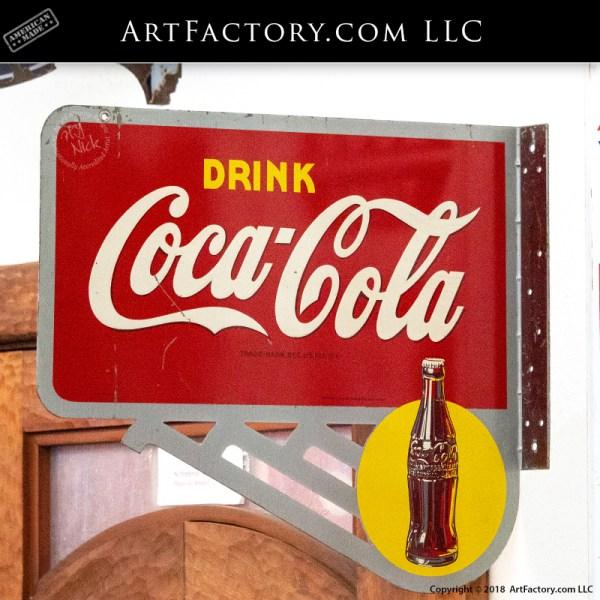Drink Coca-Cola Flange Sign