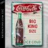 Coca-Cola Big King Size Neon Sign
