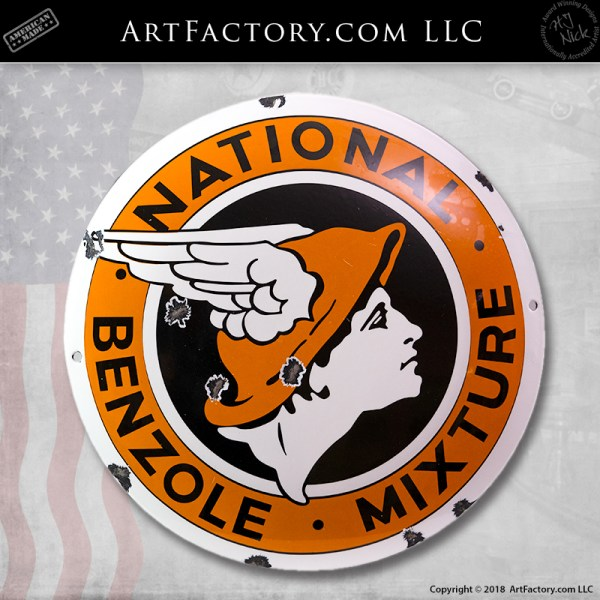 National Benzole Mixture Sign