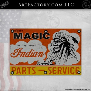 There's Magic In The Name Indian Sign