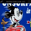 Mickey Mouse Nu-Blue Sunoco Sign