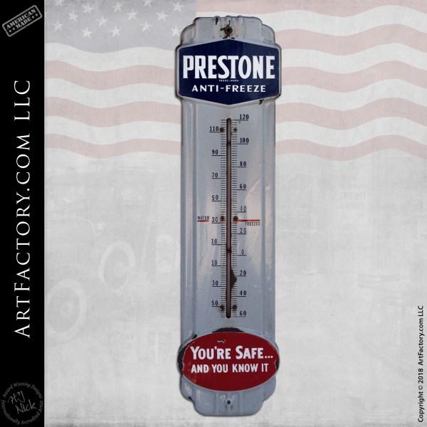Vintage-Prestone Anti-Freeze-Thermometer