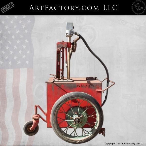 Texaco Oil Pump cart