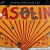 Vintage Large Shell Gasoline Porcelain Sign